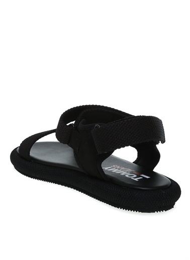 Tommy Hilfiger Spor Sandalet Siyah